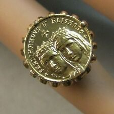 9 ct GOLD second hand Spanish ring
