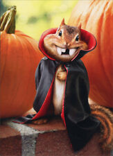 Chipmunk Vampire Stand Out Pop Up Funny Halloween Card Greeting Card by Avanti