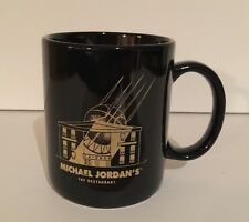 MICHAEL JORDAN'S THE RESTAURANT BLACK COFFEE TEA CUP