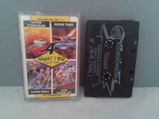 SINCLAIR ZX SPECTRUM PACK 4 JUEGOS QUATTRO SUPER SPY HERO STUNT 48K 128K +2