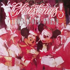 Disney Christmas Around Our World CD 1995 Oop WDW Parks Scaletta Carolers Rare
