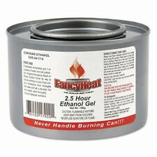 Fancy Heat Ethanol Gel Chafing Fuel, 72 - 7-oz Cans (FHC F900)