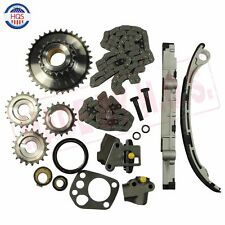 Timing Chain Kit For 98-01 2.4L Nissan Altima Frontier Xterra KA24DE