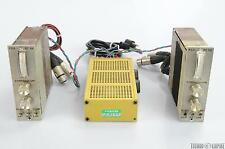 2 Vintage RCA RC 550 Broadcast Console Compression Modules W/Power Supply #25915