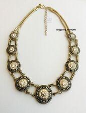 """NEW Lia Sophia """"Tudor"""" Cut Crystals Necklace 18-21"""""""