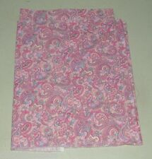 Vintage Pink Paisley Quilting Cotton Fabric 1/4 Yard 16814