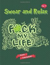 Adult Coloring Book Swear Word Sweary F*ck Stress Relief Anti Funny Dover Joke