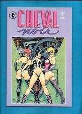 Cheval Noir #1 Dark Horse Comics August 1989 Dave Stevens Cover