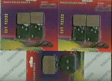 Ducati Disc Brake Pads 1000 Hypermotard 2006 Front & Rear (3 sets)
