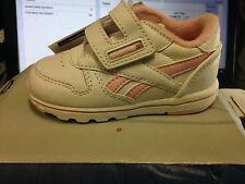 Reebok classic taille uk baby jnr cuir rose/at £ 12