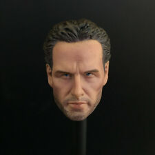 1/6th Scale The Walking Dead Rick Grimes Head Sculpt Sheriff Deputy Headplay