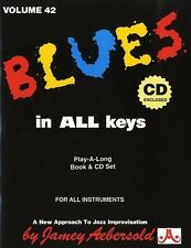 Aebersold Vol. 42 Blues in all Keys, Sheet Music, CD, English - 9781562242008