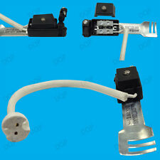 MR16 Ceramic Socket Heat Resistant Flex Lamp Holder & Bridge, New UK Regulation