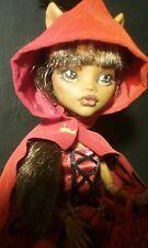 OOAK Monster High Clawdeen Wolf Collector Doll Repaint by artist JSAL