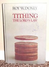 TITHING THE LORDS LAW by Roy W. Doxey 1976 1STED LDS MORMON HB