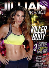 Jillian Michaels: Killer Body (DVD, 2015)