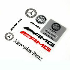 10 Pcs Universal Decal AMG Sticker Emblem Badge Logo