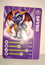 CARTE FIGURINE FIGURE JEUX VIDEO SKYLANDERS - SYRO