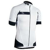 Bellwether Men's Helius Short-Sleeve Cycling Jersey White Large