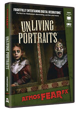 Halloween ATMOSFEARFX UNLIVING PORTRAITS DVD TV WINDOW PROJECTION Haunted House