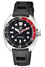 NEW Deep Blue Swiss Automatic Military Diver 300 Rubber Strap Watch