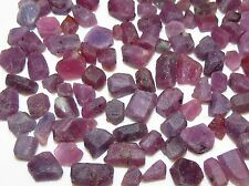 50ct HEXAGONAL VIOLET SAPPHIRE rough EARTH MINED CRYSTAL LOTS