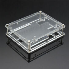 1X Clear Cover Enclosure Transparent Acrylic Box Case Kit for Arduino JPUK