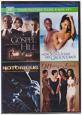 GOSPEL HILL/HOW STELLA GOT HER GROOVE BACK/NOTORIOUS/WAITING TO EXHALE (DVD) NEW