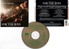 FOR THE BOYS - Bette Midler (CD BOF/OST) Mark Rydell 1991