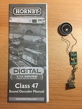 HORNBY DIGITAL TTS SOUND DECODER 8 PIN TO 21 PIN BACHMANN CONVERSION SERVICE