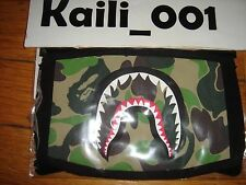 A Bathing Ape Bape Shark Camo Mask 2016 100% AUTHENTIC Supreme KAWS B