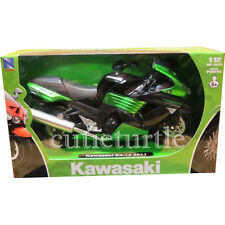 New Ray 2011 Kawasaki ZX-14 Ninja Bike Motorcycle 1:12 Diecast 57433 Green