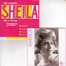 CD Single SHEILA Sheila - EP 4-TRACK CARD SLEEVE Avec repro photo dédicacée
