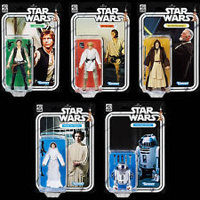 "Star Wars Black Series 40th Anniversary 6"" Wave 1 set of 5 Figures NEW Pre Order"