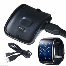 USB Cargador Dock docking station Para Samsung Galaxy Gear S SM-R750 SmartWatch