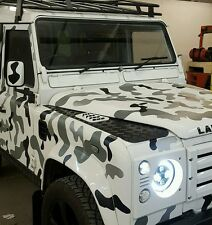 Land Rover Defender 110 Vehicle Camo Kit, Decals Stickers Vinyl Modified 4x4