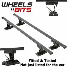 Fiat Croma 4/5dr 05-07 Roof Bars Rack 75KG Model Custom Direct Fitted & Tested