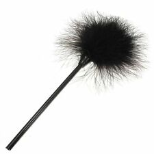 Feather duster Tickle Sex Bondage Erotic Games Naughty Fluffy black Tickler SH