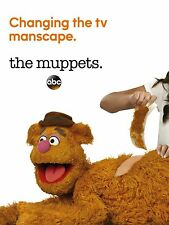 THE MUPPETS MANIFESTO KERMIT FOZZIE ANIMAL MISS PIGGY GONZO