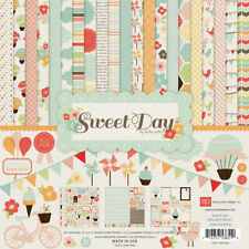 """ECHO PARK """"SWEET DAY"""" 12X12  PAPER  PACK SUMMER  FAMILY  SCRAPJACK'S PLACE"""