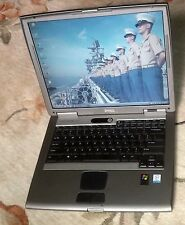 "DELL Latitude D505 Windows XP Pro Office 2010  WiFi DVD 160GB 2GB 15"" LCD Laptop"