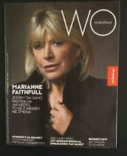 MARIANNE FAITHFULL   great mag.FRONT cover Poland WYSOKIE OBCASY 41