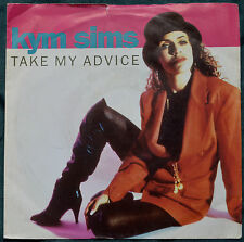 "Kym Sims – Take My Advice 7"" – B 8591 – Ex   BUY 2+ for 25% OFF"
