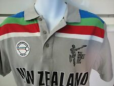 ICC Cricket World Cup 2015 New Zealand Blackcaps rugby polo shirt XL rare