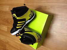 Brand New Adidas NEO Raleigh 9TIS MID Black/Yellow SIZE 8.5 Sneakers