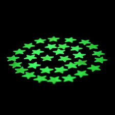 F8  100PCS Home Wall Glow In The Dark Stars Stickers Decal Dreamy Noctilucent