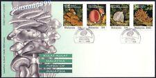 1995 Malaysia Fungi 4v Stamps FDC (Kuala Lumpur Cachet)