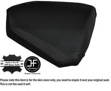 DESIGN 2 BLACK STITCH CUSTOM FITS KTM RC8 R 1190 REAR LEATHER SEAT COVER
