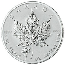 2017 Canada $5 1 oz Reverse Proof Silver Maple Leaf - Cougar Privy Mark SKU43336