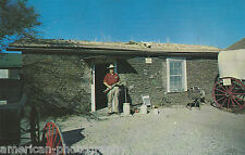 FAMOUS SOD HOUSE Colby Kansas - 1950s * Rugged Homesteader Plains Prairie Home